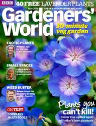 Gardeners' World issue May 2018