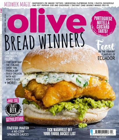 Olive Magazine issue April 2018