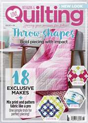Love Patchwork & Quilting Magazine Cover