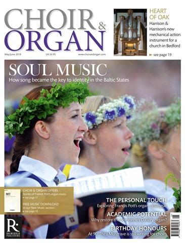Choir & Organ issue May - June 2018