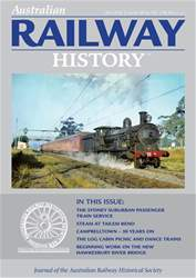 Australian Railway History issue May 2018