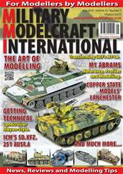 Military Modelcraft International issue May 2018