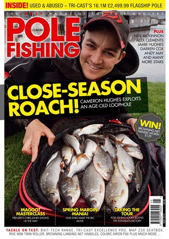 Pole Fishing issue May 2018