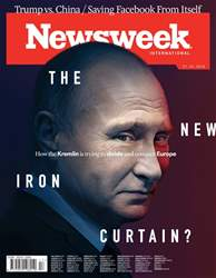 Newsweek International issue 27th April 2018