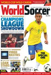 World Soccer issue May 2018