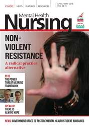 Mental Health Nursing issue April/May 2018