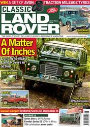 Classic Land Rover Magazine issue   June 2018