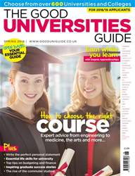 The Good Universities Guide Spring 2018 issue The Good Universities Guide Spring 2018