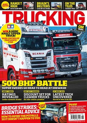 Trucking Magazine issue June 2018