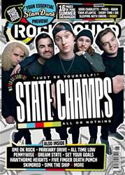 Rock Sound Magazine issue State Champs - 239