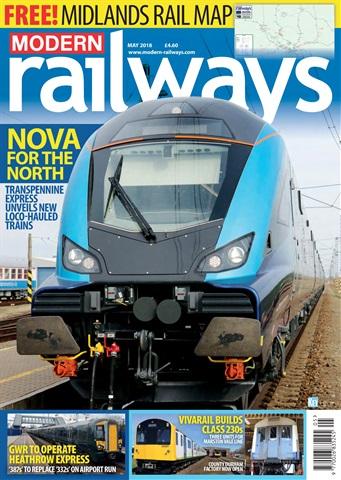 Modern Railways issue  May 2018