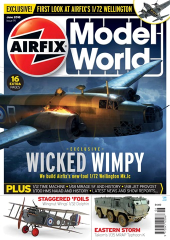 Airfix Model World issue   June 2018
