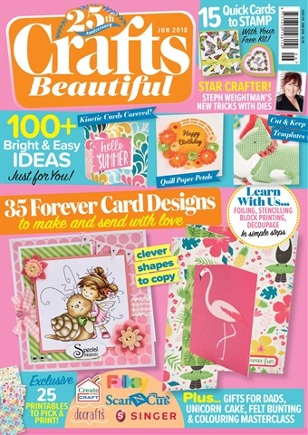 Crafts Beautiful issue Jun-18
