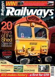 Railways Illustrated issue   June 2018
