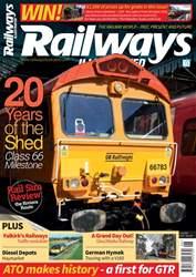 Railways Illustrated issue   June 2018