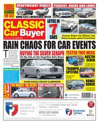 Classic Car Buyer issue 25th April 2018