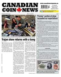 Canadian Coin News issue V56#03 - May 15.18