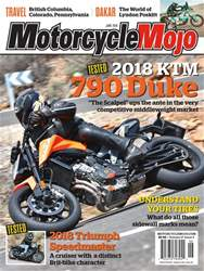 Motorcycle Mojo issue Jun-18