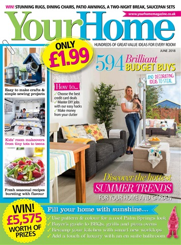Your Home Magazine issue June 2018