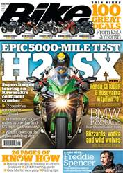 Bike issue June 2018