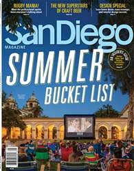 San Diego Magazine issue Summer Bucket List