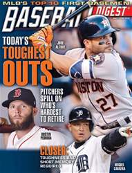 Baseball Digest issue May/June 2018