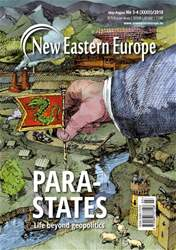 New Eastern Europe issue May-August 2018