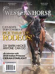 Western Horse Review issue May/June 2018