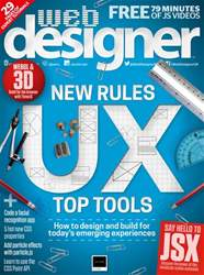 Web Designer Magazine Cover
