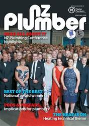 NZ PLUMBER issue April-May 2018