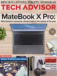 Tech Advisor Magazine Cover