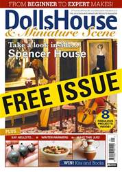 Dolls House and Miniature Scene issue Sample Issue