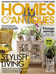 Homes & Antiques Magazine issue June 2018