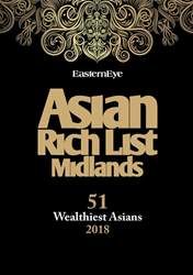 Eastern Eye Newspaper issue Rich List Midlands