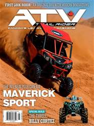 ATV Trail Rider issue May / June 2018