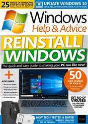 Windows Help & Advice issue May 2018
