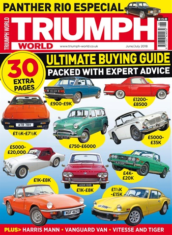 Triumph World issue June-July 2018