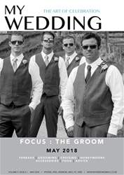 My Wedding issue May 2018 - Grooms