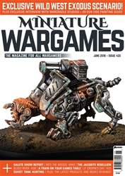Miniature Wargames issue June 2018 (422)