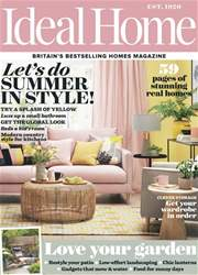 Ideal Home issue June 2018