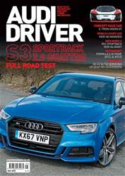 Audi Driver issue May 2018