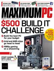 Maximum PC issue May 2018