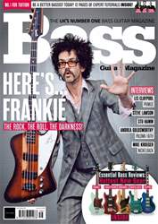 Bass Guitar issue May 2018