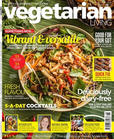 Vegetarian Living issue June-18