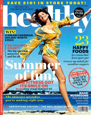 Healthy Magazine issue June/July 2018
