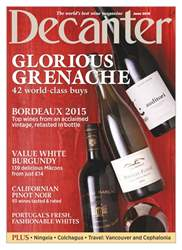 Decanter issue June 2018