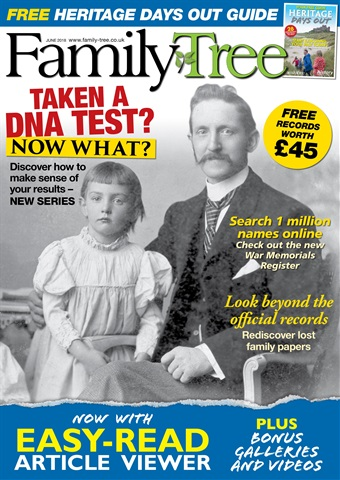 Family Tree issue Family Tree June 2018