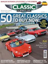 Classic & Sports Car issue June 2018