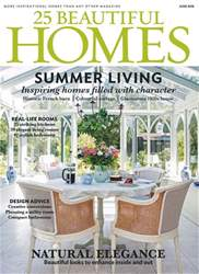 25 Beautiful Homes issue June 2018