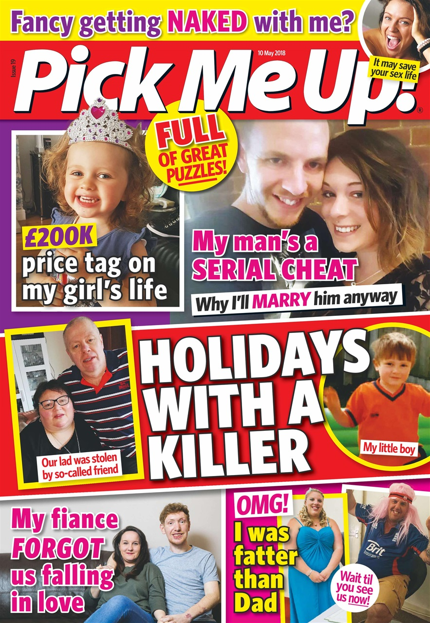 82043022e744d Pick Me Up Magazine - 10th May 2018 Subscriptions